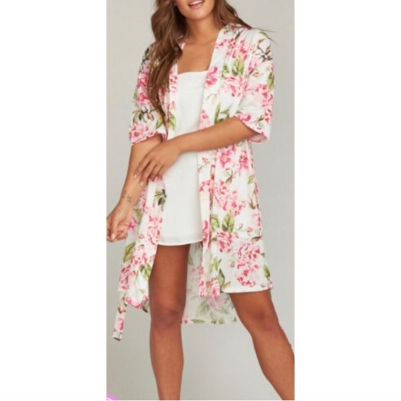 Show Me Your MuMu Other - Show Me Your Mumu Brie floral robe NWT